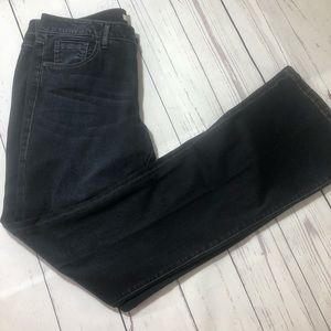 Cabi #515L baby boot cut stretch jeans size 12